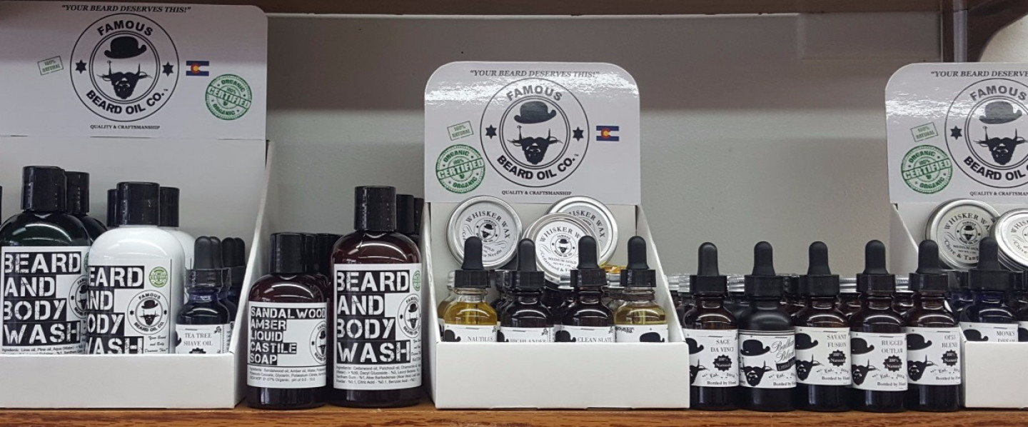New Product, FAMOUS BEARD OIL